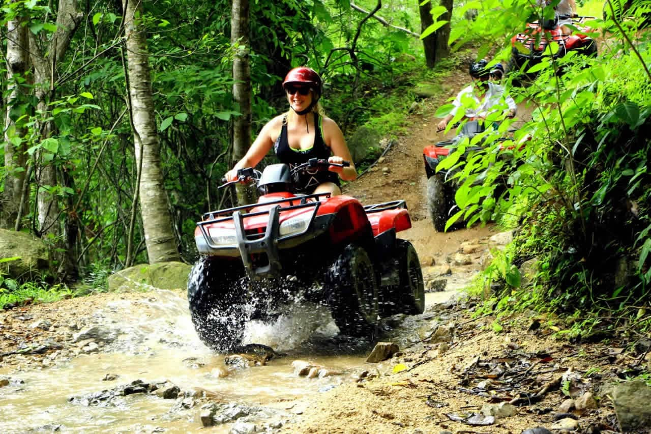 Cuatrimoto (ATV) - Jorullo Beach River